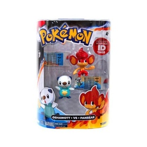 Pokemon Series 1 Oshawott vs Pansear Action Figure 2-Pack by Pokemon Black & White Toys & Action Figures