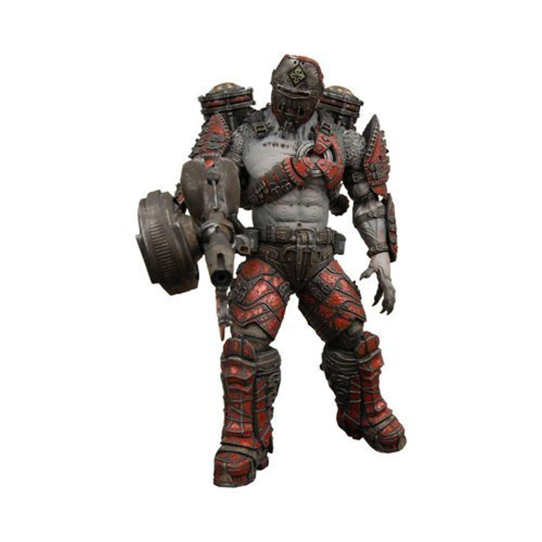 Gears of War NECA Series 4 Action Figure Locust Grenadier (Helmeted with Flamethrower) by Gear of War 2