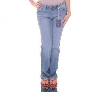 Earl Jeans Juniors Embellished-Pocket Jeans (9, Light Medium Blue)