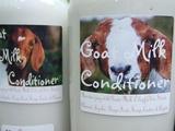 Goat Milk Conditioner ~ All natural Creamy Goat Milk Conditioner