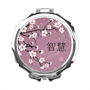 Girls and Ladies Look Flower Vanity Mirror Makeup