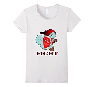 Women's fight T-shirt XL White
