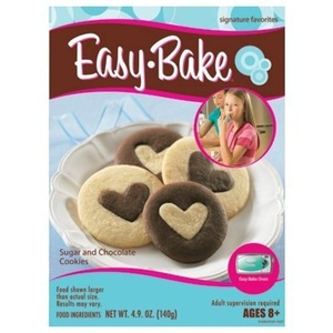 Hasbro Easy Bake Oven Sugar Cookie and Chocolate Cookie Mixes by Easy Bake Oven