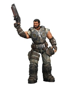 Gears of War 3 Series 2 Dominic Santiago Action Figure by Gears of War