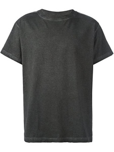 OFF-WHITE MEN'S 002F161850231000 BLACK COTTON T-SHIRT