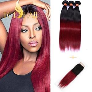 Top Hair Brazilian Ombre Hair 3 bundles/300g14