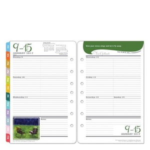 Classic Her Point of View Weekly Ring-bound Planner - Jan 2017 - Dec 2017