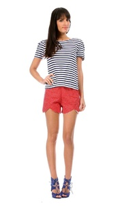 Rose Couture Women's Shorts NETTLE L Red