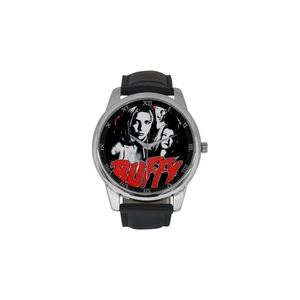 Buffy The Vampire Slayer DBLN526 Men Wrist Watches Leather Strap Large Dial Watch