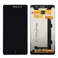 New Black Touch Digitizer+LCD Display screen Assembly For Nokia Lumia 830