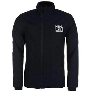 Henleys Men's Desouk Lightweight Rain Wind Jacket Navy XX-Large