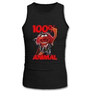 100 Animal for Men Printed Tanks Tops Sleeveless T-shirt