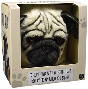 Thumbs Up Pug Dog Mask by THUMBS UP