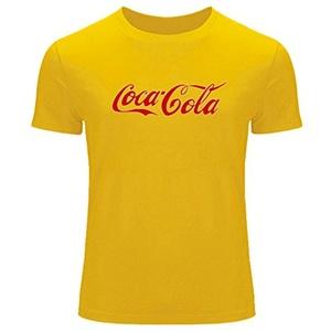 Coca Cola Logo For Men's T-shirt Tee Outlet