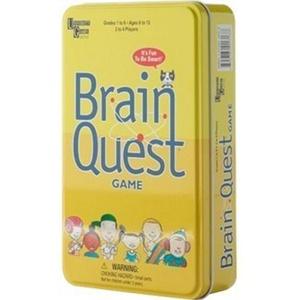 Brain Quest Travel Card Game by Brain Box