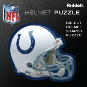 Indianapolis Colts Team Helmet Puzzle by Riddell