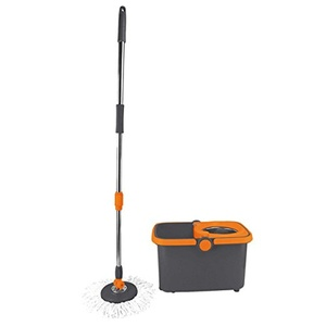 Spin Cycle Mop with Bucket Made Of Microfiber To Attract Dirt