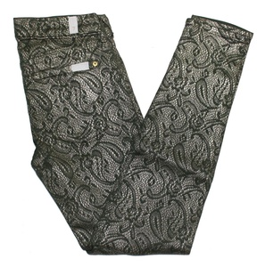 7 For All Mankind Women's Skinny Paisley Pattern Jeans