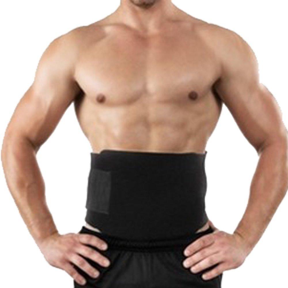 Tummy Shaper Fat Burning Trimmer Belt Adjustable Breathable Waist Trainer  Slimming Belt Body Shaper Sports Belt