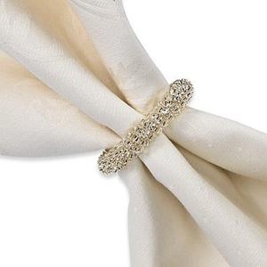 Garland Metal Napkin Ring In Silver Set of 6