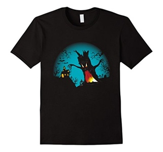 Men's Happy Halloween 2016 T-Shirt 3XL Black