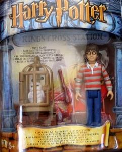 Harry Potter - MAGICAL MINIS Collection - HARRY POTTER at Kings Cross Station - Hogwarts Express by Harry Potter, Warner Brothers