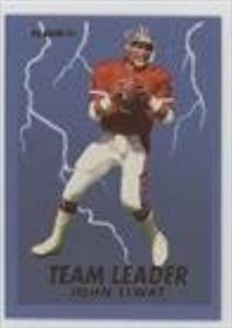 John Elway (Football Card) 1993 Fleer - Team Leaders #4
