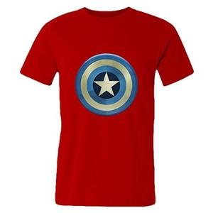 dskj Kids Premium T-shirts Captain America Gray Size S