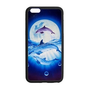 Case Cover for iPhone6 plus,Case for iPhone 6S Plus,Case for iPhone 6 Plus(5.5 inch),Cover Case Protector for iPhone6S Plus [Dolphin] Rubber Protective Case Cover Shell for iPhone 6 Plus