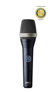 AKG C7 Reference Condenser Vocal Microphone with 1 Year Free Extended Warranty