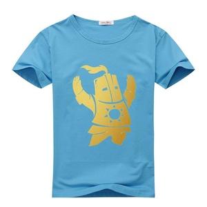 While Womens T-shirts Dark Souls 2 Praise The Sun Sky Blue Size S