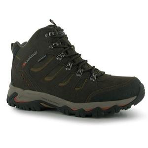 Mens Karrimor Mount Mid Walking Boots Brown (UK 11 / US 11.5)