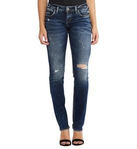 Silver Jeans Co. Berkley Straight Dark Wash 26 x 32