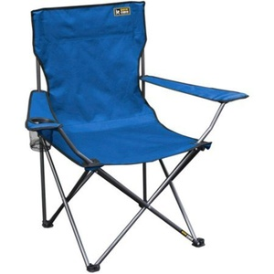 Quik Chair Folding Quad Camp Chair 225 lbs with Mesh cup Holder