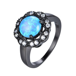 FT-Ring Ocean Blue Fire Opal Jewelry Wedding Ring For Women Engagement Wedding Rings (10)