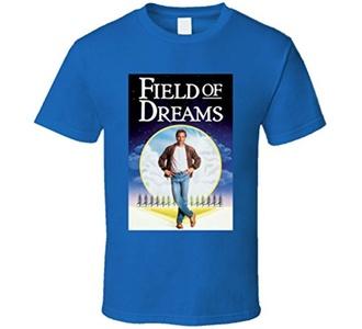 Field of Dreams Baseball Movie Costner Kinsella Shoeless Joe T Shirt M Royal Blue