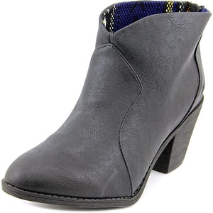 Blowfish Schloss Womens Ankle Booties Black Fawn 6