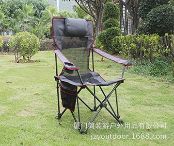 XXL 2016 Outdoor leisure Chair adjustable accompanying Chair folding Office lunch break Chair night fishing Chair , gray