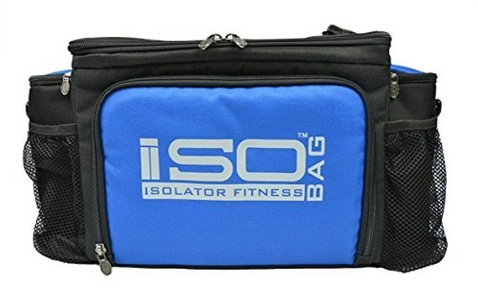 2nd Gen Isobag 6 Meal Blue/Black by Isolator Fitness