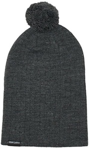 Urban Classic Men's Wintermtze Bobble Beanie - Hat - Grey (dunkelgrau), (Manufacturer size: one size) by Urban Classic