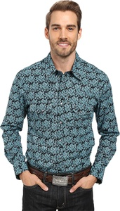 Rock and Roll Cowboy Men's Long Sleeve Snap B2S8404