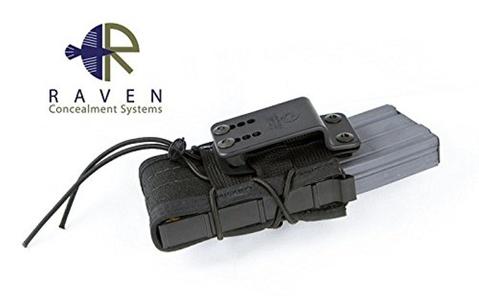 Raven Concealment Paddle Clip for Moduloader Frames Black / Single Pack