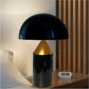 Modern minimalist bedroom table lamps bedside lamp Creative modern and simple decorative lamps, black