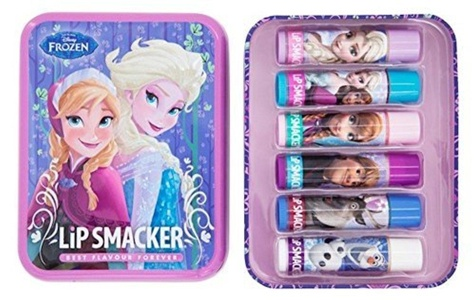 Lip Smacker - Disney Frozen - New Tin Box 6 lip balms by Lip Smacker