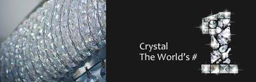SL® Chandelier Luxury Modern Crystal 4 Lights