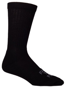 Farm to Feet Coronado Lightweight Crew Socks, Black, L