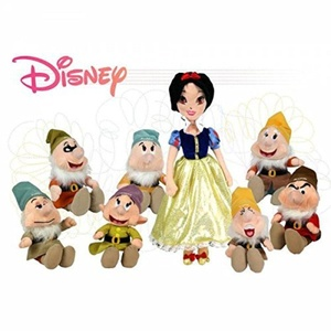 Sneezy Dwarf 10'' Plush Snow White and the Seven Dwarfs Disney Film Soft Toy by Play by Play