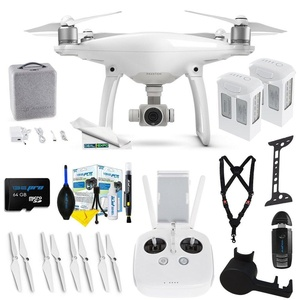 DJI Phantom 4 + (2) DJI Phantom 4 Intelligent Flight Battery + Expo-Advanced Accessory Bundle