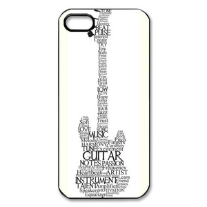 Case for iPhone SE,Case for iPhone 5/iPhone 5S,Guitar Phone Case Cover For iPhone5 5S,Case for iPhone 5S,Cute Guitar Rubber TPU Shell Case Cover Protector For iPhone 5 5S SE