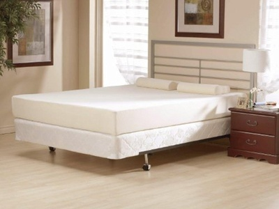 6 Inch Flipable Double Sided Memory Foam & High Density Foam Mattress Size Queen